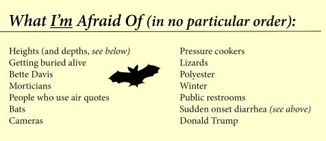 fears list