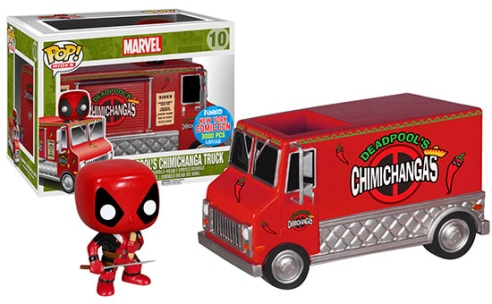 NYCC-2015-Exclusive-Funko-Deadpool-Red-Taco-Truck-POP-Vinyls-Rides