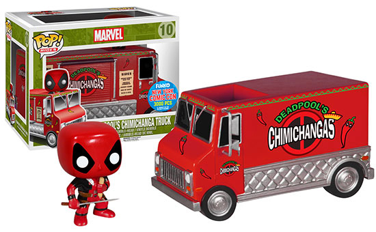 NYCC-2015-Exclusive-Funko-Deadpool-Red-Taco-Truck-POP-Vinyls-Rides