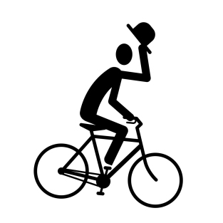 biker_tipping hat